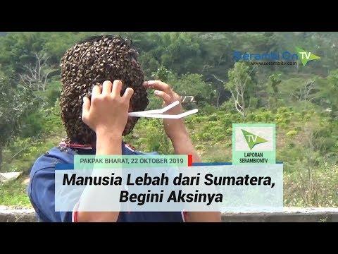 Manusia Lebah Dari Sumatera, Begini Aksinya