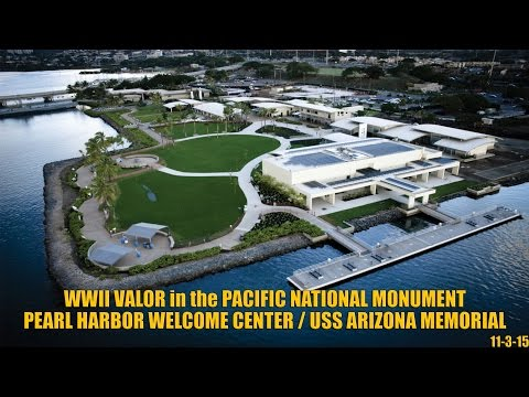 Pearl Harbor Welcome Center Video Tour (WWII Valor in the Pacific National Monument)
