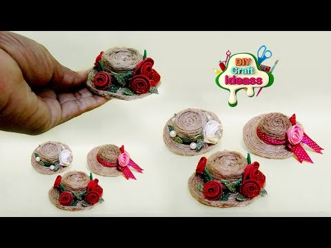 Best out waste idea 2018 || How to make Hat idea with paper cups | Arush diy craft ideas
