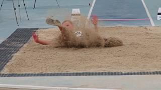 Стрибки у довжину, жінки, фінал (чемпіонат України-2017 з легкої атлетики)