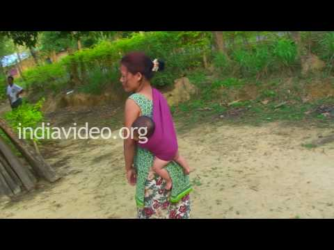 A Naga village