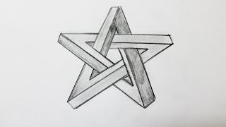 How to draw the impossible star