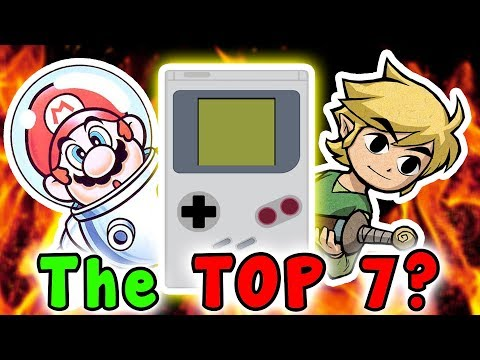 Top 7 Games I WANT For GAMEBOY CLASSIC (Nintendo)