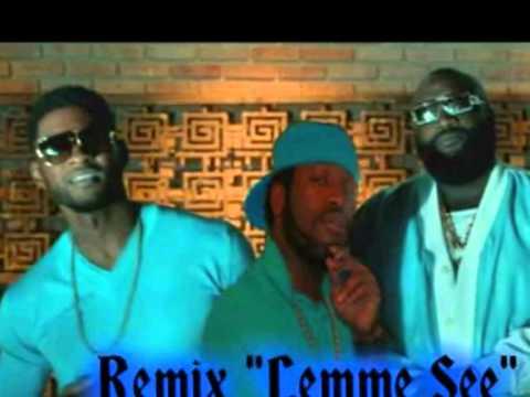 Usher Lyrics - Lemme See (feat. Rick Ross)