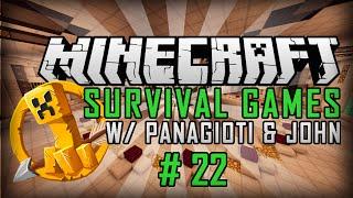 Minecraft Survival Games #22 GG!