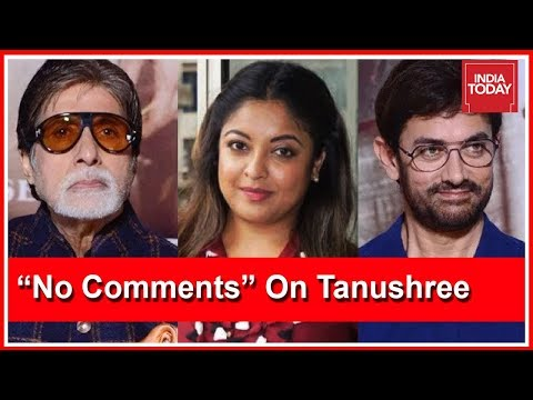 Bollywood Silent On Tanushree`s Harassment; Amitabh Bachchan & Aami Khan Refuses To Comment On Issue
