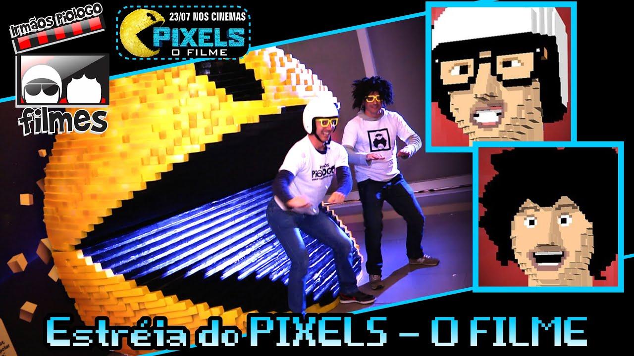 Estréia do PIXELS - O Filme - Irmãos Piologo Filmes
