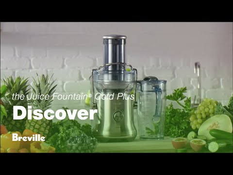 The Juice Fountain® Cold Plus | Less prep, more juice | Breville USA