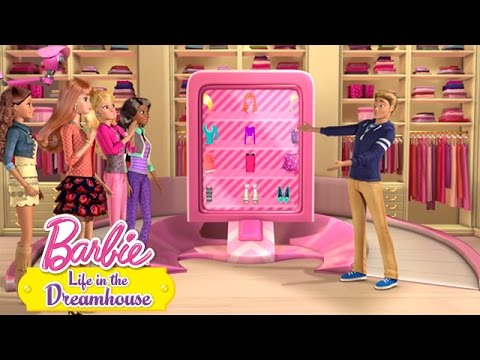 The Upgradening | Life in the Dreamhouse | Barbie - Ken shows off his latest upgrades to the Barbie Closet, so why is everything suddenly not working?