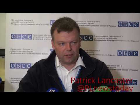 Ukraine OSCE Dep Chief in Donetsk on the current situation of the Ukraine war