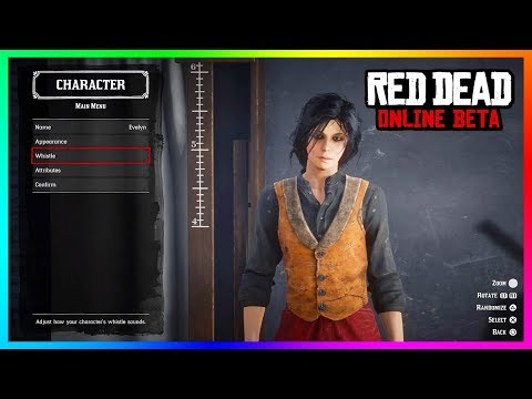 Red Dead Online Character Customization Guide - How To Make A Good Looking Male & Female Character!