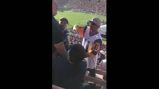 CHARGERS FANS ARRESTED AFTER LOSING FIGHTS TO RAMS FANS!
