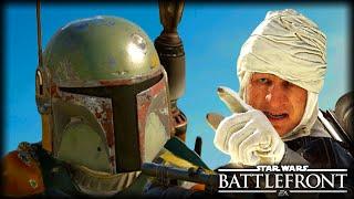 When Boba Fett Meets Dengar : STAR WARS Battlefront Machinima
