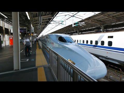 山陽・九州新幹線 みずほ605号 (N700系運行) 超広角車窓 進行左側 新大阪~博多~鹿児島中央
