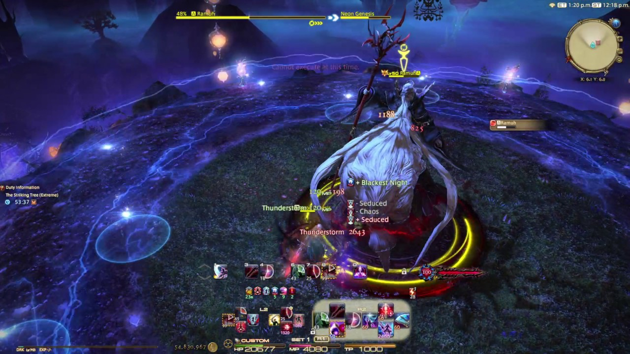 FFXIV Ramuh Extreme Solo DRK 4 0