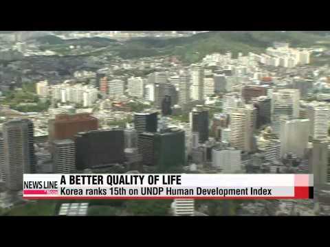 Korea ranks 15th on Human Development Index: UNDP
