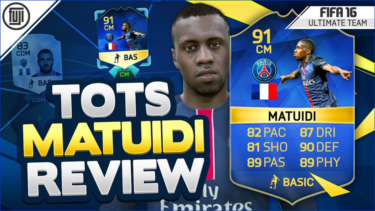 FIFA 18 | 85 BLAISE MATUIDI PLAYER REVIEW | FIFA ... - YouTube