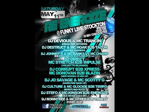 Dj's Chrissy G & Xpress Mc's Stretch & Impulse @ Re Energize 11.05.2013