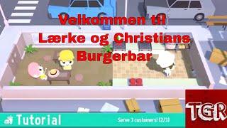 Diner Bros med Lærke og Christian: Hvad skal I have i jeres burger?? [DK]
