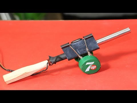 How To Make Mini Powerful Cannon
