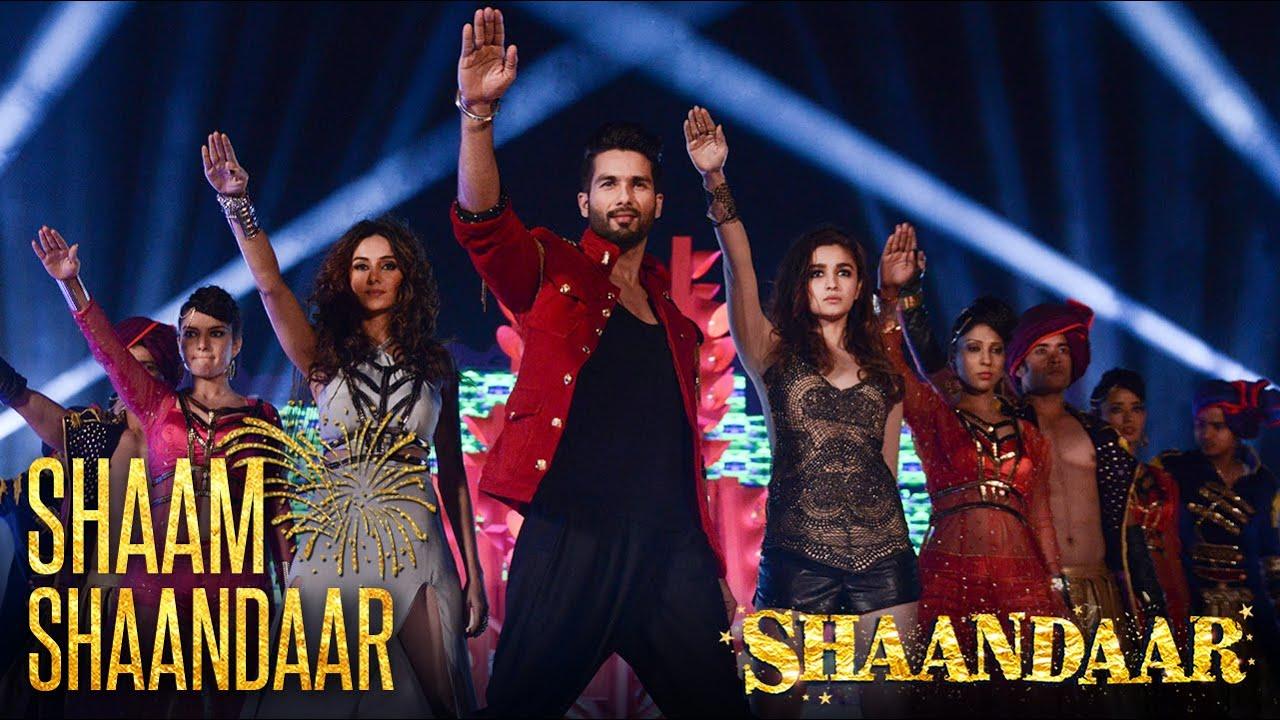Shaam Shaandaar - Official Video   Shaandaar   Shahid Kapoor & Alia Bhatt    Amit Trivedi