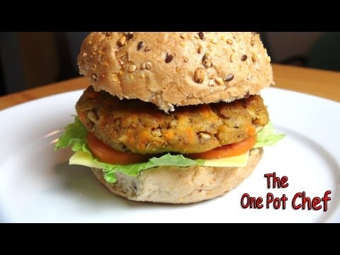 Easy Veggie Burgers | One Pot Chef