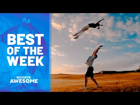 Weird Workout Tricks, Fire Eating, Bottle Crushing & More | Best of the Week