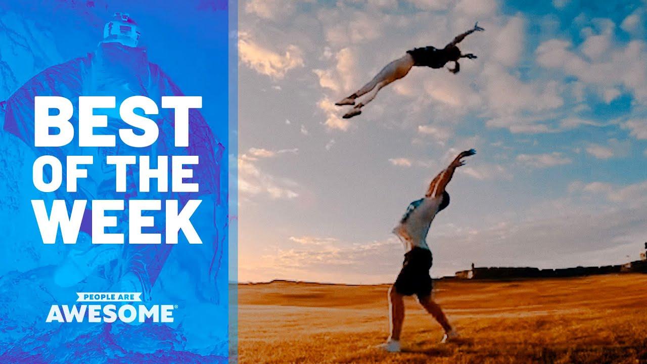 Weird Workout Tricks, Fire Eating, Bottle Crushing & More | Best of the Week