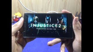 LG G4 - INJUSTICE 2 Gameplay Test. (HD)