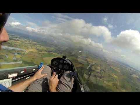 Segelflyg - Termikflygning EK(solo)