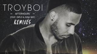 TroyBoi Afterhours Feat Diplo And Nina Sky QUIX Remix Official Full Stream
