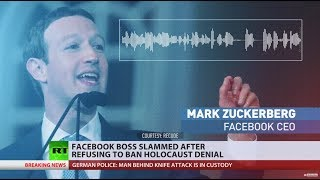 Zuckerberg slammed for refusing to ban Holocaust denial on Facebook thumbnail