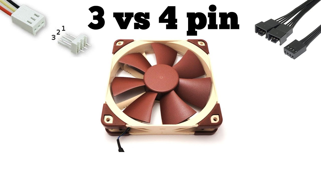 4 Pin Fan Connector Diagram Wiring Schematic 3 Vs Noctua Nf F12 Pwm Techdragon Info Youtube