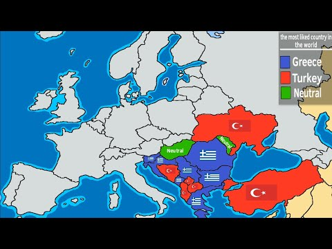 Greece Or Turkey? The Most Liked Country In The World
