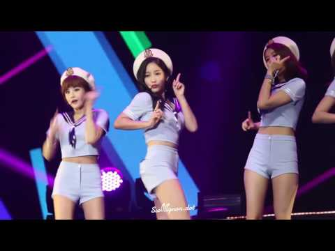 [Fancam] 151024 T-ARA(티아라) - So Crazy (Chinese ver.) @ Hefei Concert《Soyeon focus》