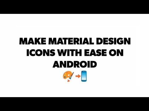 Make Material Design Icons On Android | Material Icon Generator