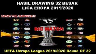 Hasil Drawing 32 Besar Liga eropa 2019 | UEFA Europa League 2019/2020 Laga Big Match