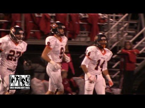 Cathedral Prep General McLane High School Football 2014 Charlie Fessler Interception