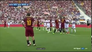 Francesco Totti last minute at Roma