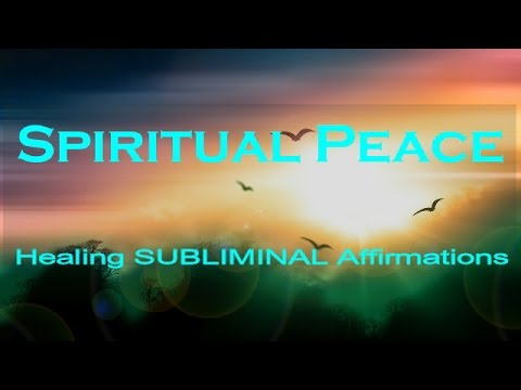 Spiritual Peace   Subliminal Healing Affirmations   Delta    Deep Sleep   Isochronic   Binaural