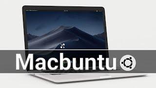 ✓ Macbuntu 19.04 : Make Ubuntu Look Like macOS Mojave
