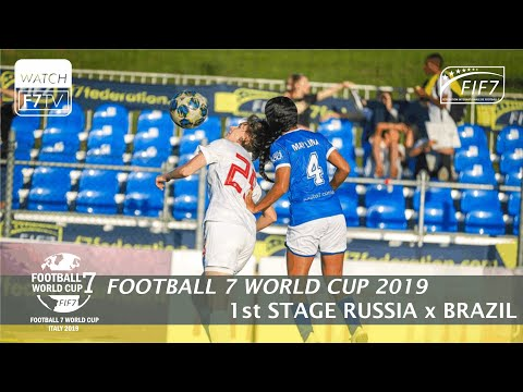 Russia Vs Brazil - Football 7 World Cup 2019 - 1st Stage (Women)
