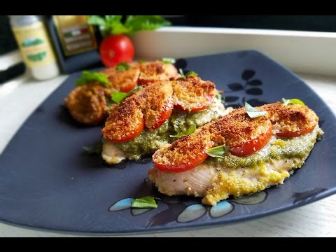 One-Pan Basil Pesto Chicken - What's For Din'? - Courtney Budzyn - Recipe 24