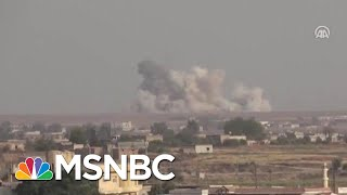 U.S. Troops Reportedly Devastated Over Syria Pullout | Velshi & Ruhle | MSNBC