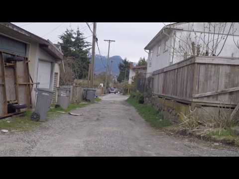 Explore Vancouver BC Canada - Residential Area in the City - Houses/Property in East Van