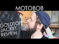 Goldtop Classic '76 Cafe Racer Leather Motorcycle Jacket Review