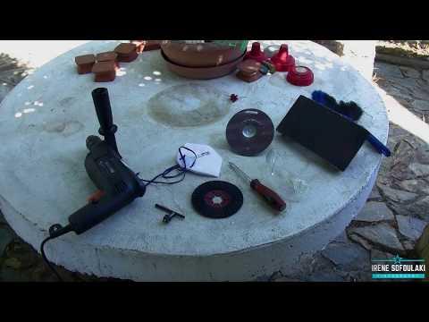 DIY (Do It Yourself) Cement sanding / ΚΑΝΤΟ ΜΟΝΟΣ ΣΟΥ (Λείανση τσιμέντου)