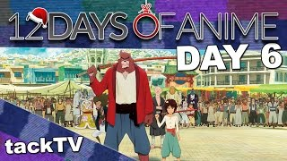 12 Days of Anime 2016 - Day 6 - The Boy and the Beast
