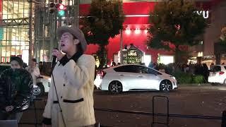 3WAGストリートライブ 2017.11.23 梅田HEP前 宇多田ヒカル「First Love...