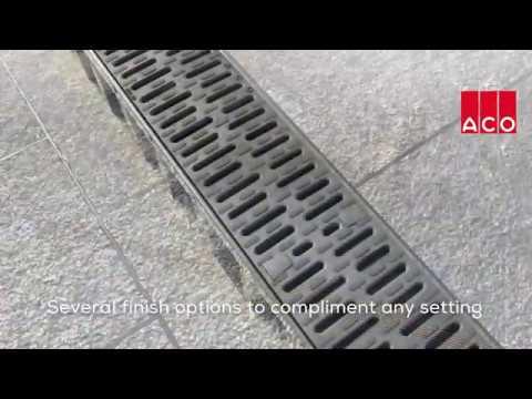 ACO Drains Range Promotional Video